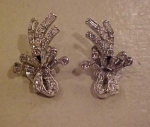 Pell rhinestone earrings
