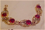 1940's retro leaf design bracelet