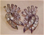 Pennino rhinestone earrings