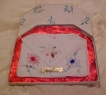 Spunwell embroidered hankies in box 3