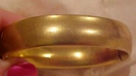 Gold Filled hinged bangle
