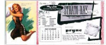Click here to enlarge image and see more about item b209: Earl Moran December blotter card