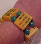 Mah Jong Tile Bracelet bakelite
