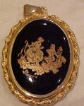 Click here to enlarge image and see more about item b6146: Limoges France pendant