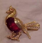 Reja sterling bird pin