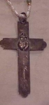 Click to view larger image of Sterling Victorian Cross (Image1)