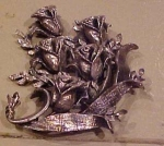 Tortolani flower pin