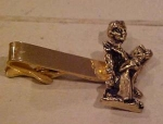 Accountant figural tie bar