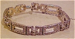 B.B. rhinestone bracelet