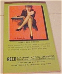 Click here to enlarge image and see more about item b6490: Earl Moran pinup notepad 1945