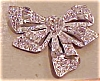 Click to view larger image of Pair of rhinestone bow dress clips (Image2)