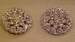 Click to view larger image of 2 rhinestone buttons (Image1)