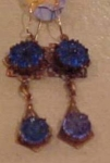 Czechoslovakian revival earrings