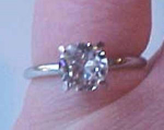 Fabulous Faux diamond ring