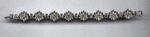 Pennino rhinestone bracelet w/flowers