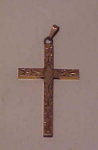 Gold filled engraved cross