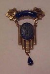 Czechoslovakian Egyptian revival pin