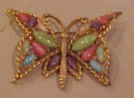Capri butterfly pin