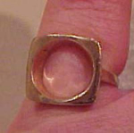 18k gold filled ring