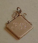 Gold filled watch fob
