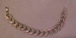 Danecraft sterling leaf design bracelet
