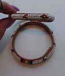 Pair of Native American Bangles