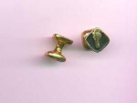 cufflinks with horses head and chain mechanism