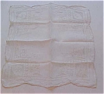 handkerchief with scalloped edges
