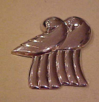 Sterling Bird Pin