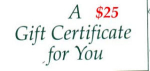 Click here to enlarge image and see more about item gc25: $25 Gift Certificate