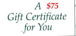 Click here to enlarge image and see more about item gc75: $75 Gift Certificate