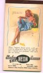 Moran Calendar Notepad 1954