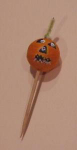 Click here to enlarge image and see more about item jack: 1940's halloween jack o'lantern toothpick