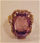 WCERM ring with amethyst glass