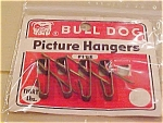 Click here to enlarge image and see more about item x1089: Bull dog picture hangars