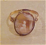 Click here to enlarge image and see more about item x1150: Cameo ring