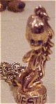 Click here to enlarge image and see more about item x1186: Wednesday charm bracelet