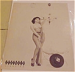 Click here to enlarge image and see more about item x1232: Geringer Lighting Advertising pin up card