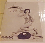 Click here to enlarge image and see more about item x1233: Geringer Lighting Advertising pin up card
