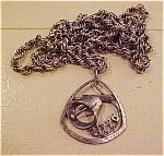 1960's funky pendant