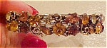 Lisner hinged rhinestone bangle