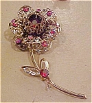 Sarah Coventry Pin with rhinestones
