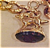 Click to view larger image of Victorian bracelet with dog fob (Image2)