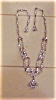 Click to view larger image of Edwardian style necklace w/rhinestones (Image2)