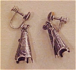 Sterling moderne earrings