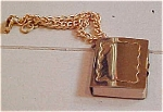 Click here to enlarge image and see more about item x1601: Charm bracelet with book charm