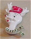 Click here to enlarge image and see more about item x1610: Beatrix reindeer pin