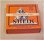 Click to view larger image of Sheik Resevoir End Condom box (Image1)