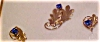 Click to view larger image of Tru Kay pin and earring set (Image2)