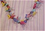 Click to view larger image of Murano glass bird necklace (Image1)